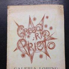 Libros de segunda mano: GREGORIO PRIETO, GALERIA LORING, SALA DE ARTE Y EXPOSICIONES, 1971. Lote 129695571