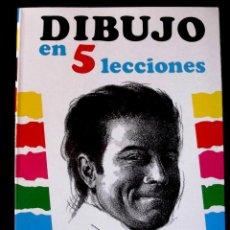 Libros de segunda mano: DIBUJO EN 5 LECCIONES. E. D` ALION.. Lote 129719043