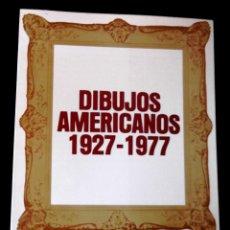 Libros de segunda mano: DIBUJOS AMERICANOS 1927-1977. MINISTERIO DE CULTURA.. Lote 129719163