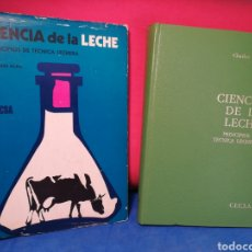 Libros de segunda mano: CIENCIA DE LA LECHE,PRINCIPIOS DE TÉCNICA LECHERA-C. ALAIS-CECSA, PRIMERA REIMPRESIÓN ESPAÑOLA,1971. Lote 129729006
