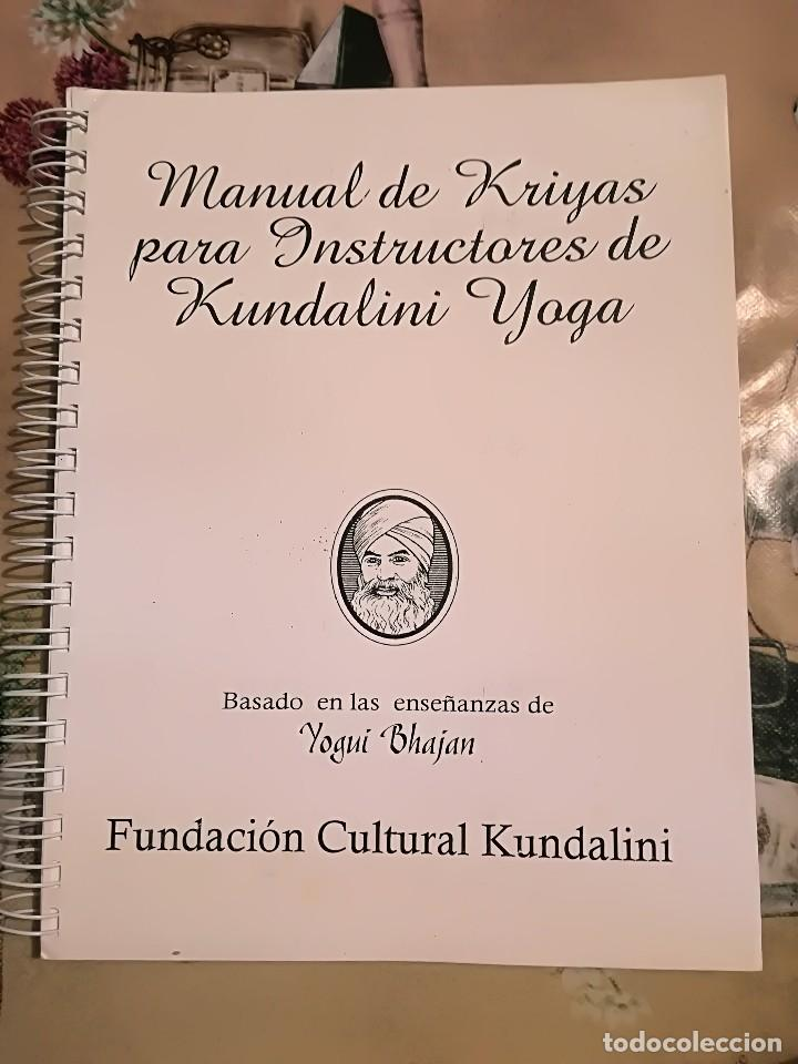 Dossier - manual de kriyas para instructores de - Sold through