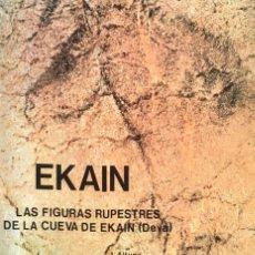 Libros de segunda mano: EKAIN. LAS FIGURAS RUPESTRES DE LA CUEVA DE EKAIN. (DEVA). J. ALTUNA./ J.M. APELLANIZ.. Lote 131173792