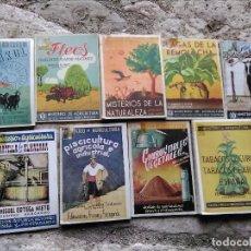 Libros de segunda mano: LIBROS ANTIGUOS MINISTERIO AGRICULTURA SECCIÓN PRENSA PROPAGANDA.. Lote 129976175