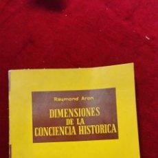 Livres d'occasion: DIMENSIONES DE LA CONCIENCIA HISTORICA. Lote 207924272