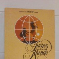 Libros de segunda mano: JUEGOS DE TODO EL MUNDO COMO CONSTRUIRLOS COMO JUGARLOS SUS ORIGENES. Lote 130202419