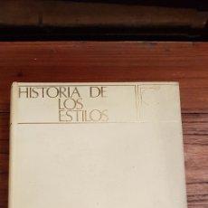 Libros de segunda mano: HISTORIA DE LOS ESTILOS - ENCICLOPEDIA CEAC DE LA DECORACION. Lote 130252820