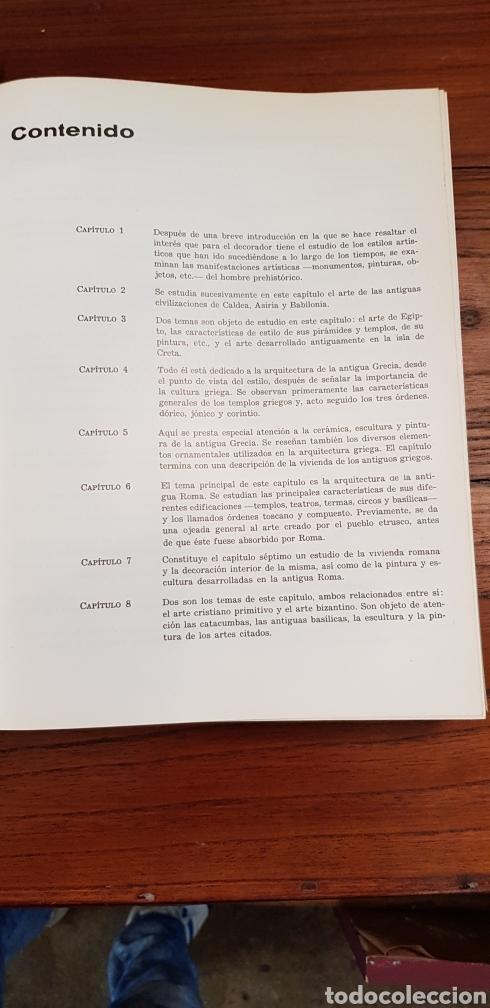 Libros de segunda mano: HISTORIA DE LOS ESTILOS - ENCICLOPEDIA CEAC DE LA DECORACION - Foto 2 - 130252820