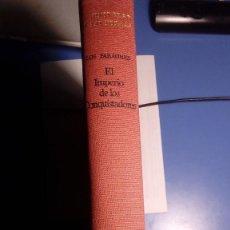 Libros de segunda mano: LOS FARAONES. EL IMPERIO DE LOS CONQUISTADORES. UNIVERSO DE LAS FORMAS. VVAA DIR. JEAN LECLANT. Lote 130366254