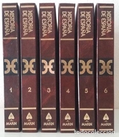 HISTORIA DE ESPAÑA (6 VOLS.) (MARÍN) (LB) (Libros de Segunda Mano - Historia - Otros)