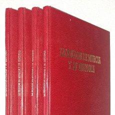 Libros de segunda mano: LA REGIÓN DE MURCIA Y SU HISTORIA (4 VOLS.) (LA OPINIÓN) (LB). Lote 130436786
