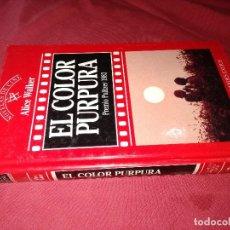 Libros de segunda mano: EL COLOR PÚRPURA ALICE WALKER EDICIONES ORBIS, S.A. . Lote 130456450