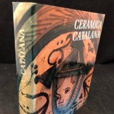 Libros de segunda mano: ALEXANDRE CIRICI. CERÀMICA CATALANA. 1977. Lote 130499382