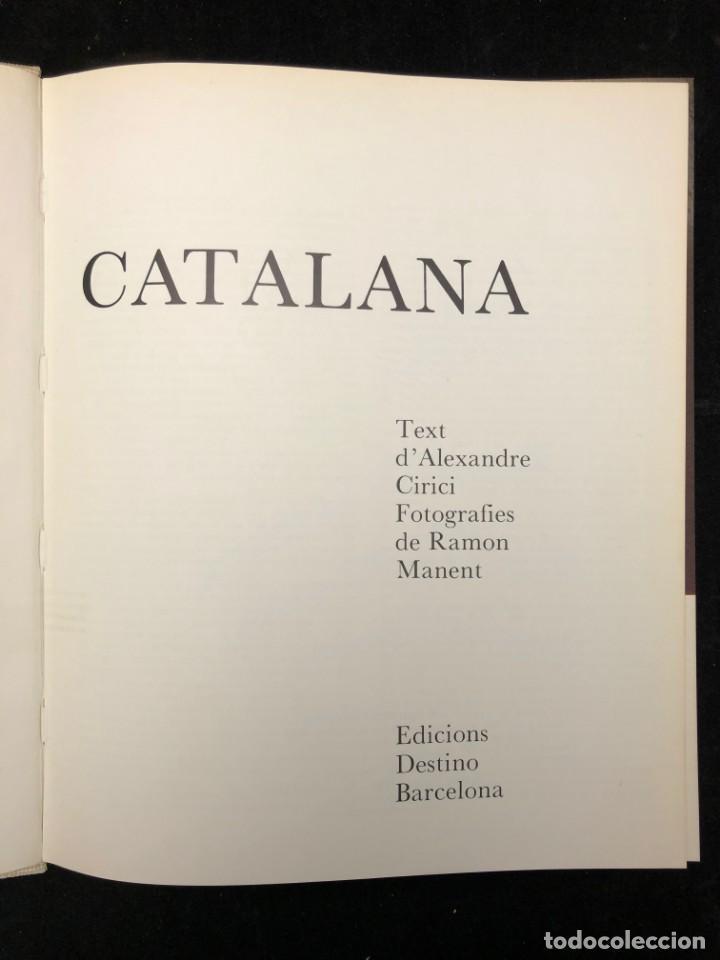 Libros de segunda mano: ALEXANDRE CIRICI. CERÀMICA CATALANA. 1977 - Foto 2 - 130499382