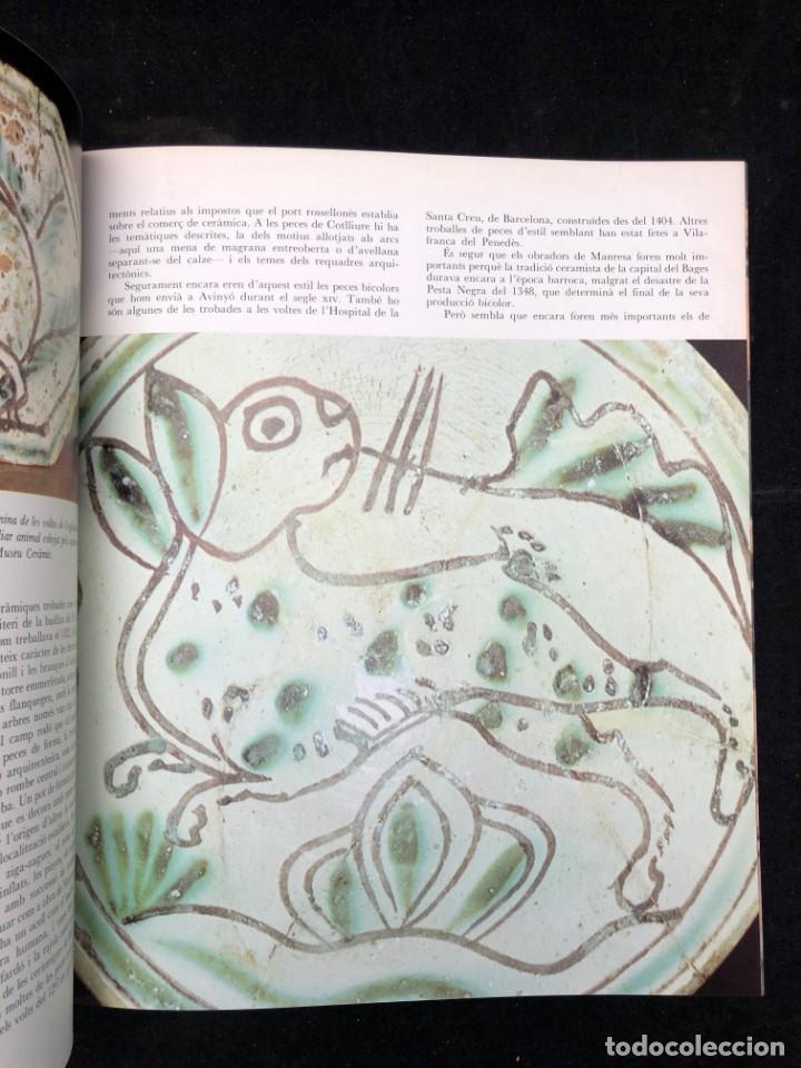 Libros de segunda mano: ALEXANDRE CIRICI. CERÀMICA CATALANA. 1977 - Foto 5 - 130499382