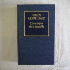 Libros de segunda mano: EL CONCEPTO DE LA ANGUSTIA - SOREN KIERKEGAARD - EDICIONES ORBIS - 1984 . Lote 130542238