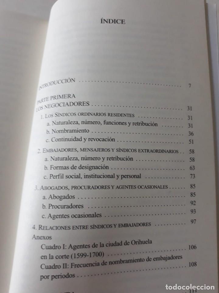 Libros de segunda mano: EL MUNICIPIO EN LA CORTE DE LOS AUSTRIAS. Síndicos y embajadas en Orihuela BERNABÉ GIL, David - Foto 5 - 165313350