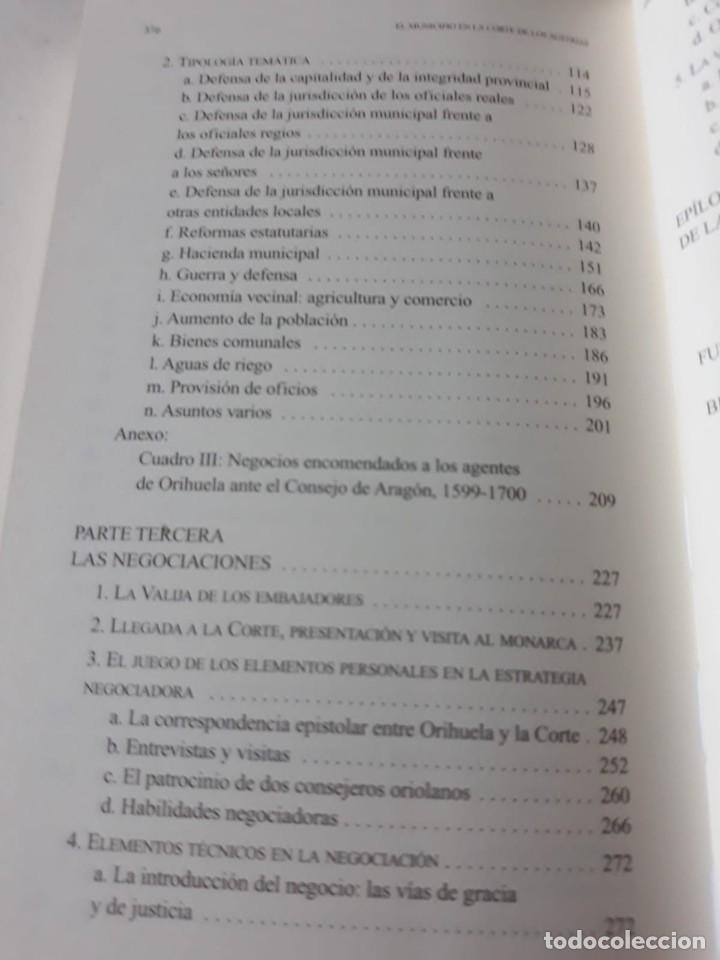 Libros de segunda mano: EL MUNICIPIO EN LA CORTE DE LOS AUSTRIAS. Síndicos y embajadas en Orihuela BERNABÉ GIL, David - Foto 6 - 165313350