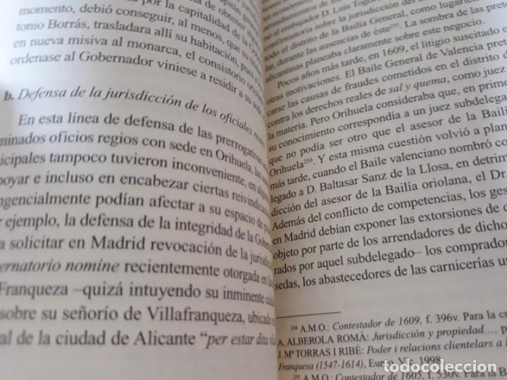 Libros de segunda mano: EL MUNICIPIO EN LA CORTE DE LOS AUSTRIAS. Síndicos y embajadas en Orihuela BERNABÉ GIL, David - Foto 9 - 165313350