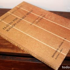 Libros de segunda mano: LUIS SEOANE. GARCIA LORCA. LLANTO POR IGNACIO SÁNCHEZ MEJÍAS. 1961.. Lote 130580526