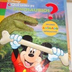 Libros de segunda mano: ¿ QUE SABES DE LOS DINOSAURIOS?. Lote 130586922