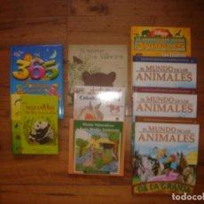 Libros de segunda mano: ESPLÉNDIDO LOTE PUBLICACIONES INFANTILES SOBRE LA FAUNA ANIMAL 9 LIBROS. Lote 130600334
