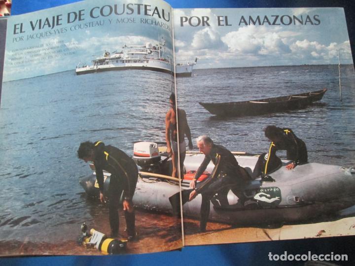 Libros de segunda mano: LIBRO-EL VIAJE DE COUSTEAU POR EL AMAZONAS-1983-240 PÁGINAS-PERFECTO ESTADO-VER FOTOS - Foto 4 - 130610810