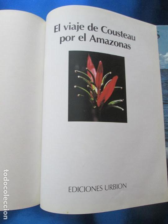 Libros de segunda mano: LIBRO-EL VIAJE DE COUSTEAU POR EL AMAZONAS-1983-240 PÁGINAS-PERFECTO ESTADO-VER FOTOS - Foto 5 - 130610810