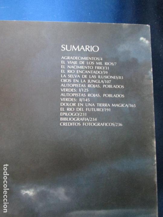 Libros de segunda mano: LIBRO-EL VIAJE DE COUSTEAU POR EL AMAZONAS-1983-240 PÁGINAS-PERFECTO ESTADO-VER FOTOS - Foto 6 - 130610810