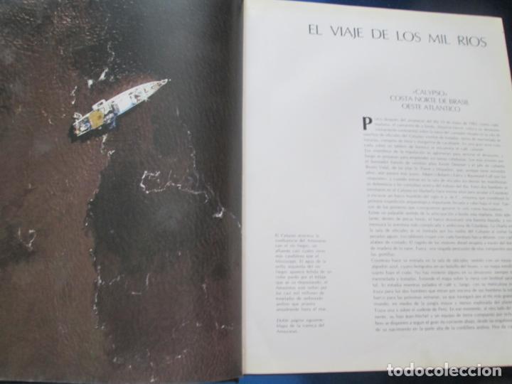 Libros de segunda mano: LIBRO-EL VIAJE DE COUSTEAU POR EL AMAZONAS-1983-240 PÁGINAS-PERFECTO ESTADO-VER FOTOS - Foto 7 - 130610810