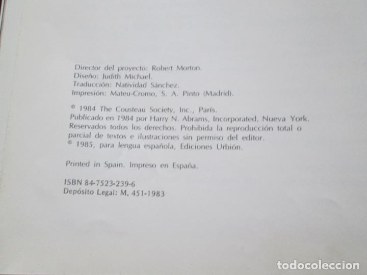 Libros de segunda mano: LIBRO-EL VIAJE DE COUSTEAU POR EL AMAZONAS-1983-240 PÁGINAS-PERFECTO ESTADO-VER FOTOS - Foto 12 - 130610810
