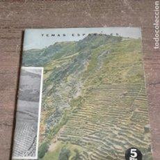 Libros de segunda mano: LIBRO,AÑO 1964,DEFENSA DEL SUELO,TEMAS ESPAÑOLES,NÚMERO 450. Lote 130628048