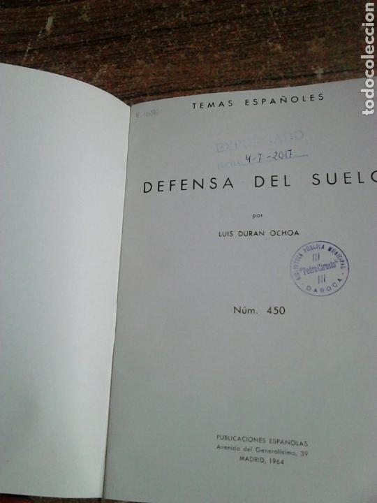 Libros de segunda mano: Libro,año 1964,defensa del suelo,temas españoles,número 450 - Foto 2 - 130628048