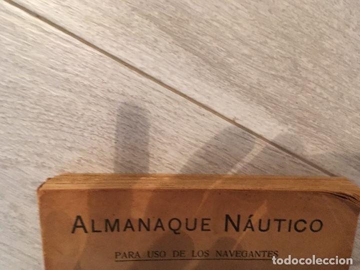 Libros de segunda mano: ALMANAQUE NÁUTICO 1961 INSTITUTO OBSERVATORIO DE LA MARINA SAN FERNANDO - Foto 5 - 130631130