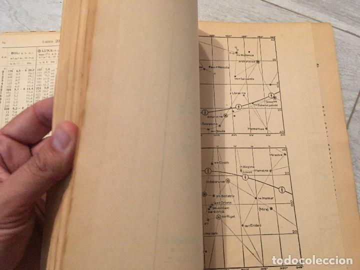 Libros de segunda mano: ALMANAQUE NÁUTICO 1961 INSTITUTO OBSERVATORIO DE LA MARINA SAN FERNANDO - Foto 12 - 130631130