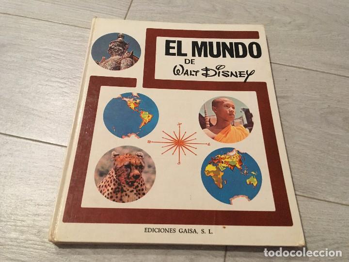 EL MUNDO DE WALT DISNEY - EDICIONES GAISA (Libros de Segunda Mano - Literatura Infantil y Juvenil - Otros)