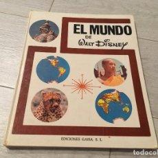 Libros de segunda mano: EL MUNDO DE WALT DISNEY - EDICIONES GAISA . Lote 130636238