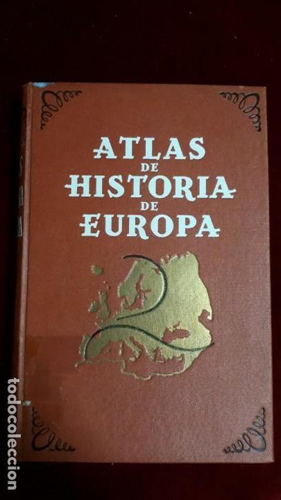 ATLAS DE HISTORIA DE EUROPA. 1941 (Libros de Segunda Mano - Historia - Otros)
