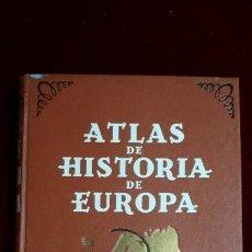 Libros de segunda mano: ATLAS DE HISTORIA DE EUROPA. 1941. Lote 130671688