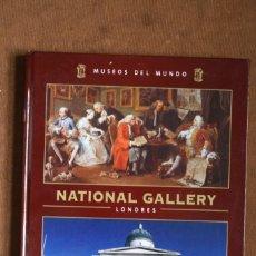 Libros de segunda mano: COLECCIÓN MUSEOS DEL MUNDO TOMO VOLUMEN Nº 1 NATIONAL GALLERY LONDRES – ESPASA . Lote 130710099