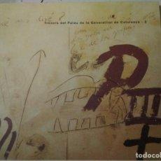Libros de segunda mano: TRESORS DEL PALAU DE LA GENERALITAT DE CATALUNYA - 2. Lote 130713794