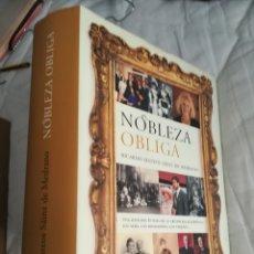 Libros de segunda mano: NOBLEZA OBLIGA. RICARDO MATEOS SAINZ DE MEDRANO. Lote 130763859