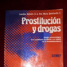 Libros de segunda mano: PROSTITUCIÓN Y DROGAS. 1976. Lote 130765116