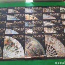 Libros de segunda mano: ABANICOS DE COLECCIÓN – 45 FASCÍCULOS Y 2 TAPAS - PLANETA DEAGOSTINI. Lote 130782180