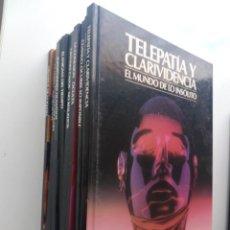 Libros de segunda mano: EL MUNDO DE LO INSOLITO - COLECCIÓN DE 10 TOMOS. Lote 130791600