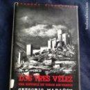 Libros de segunda mano: LOS TRES VELEZ. GREGORIO MARAÑON. Lote 130807868