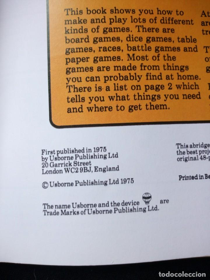 Libros de segunda mano: the knowhow book of action games,1975. libro de hacer juegos,en ingles. - Foto 2 - 130822616