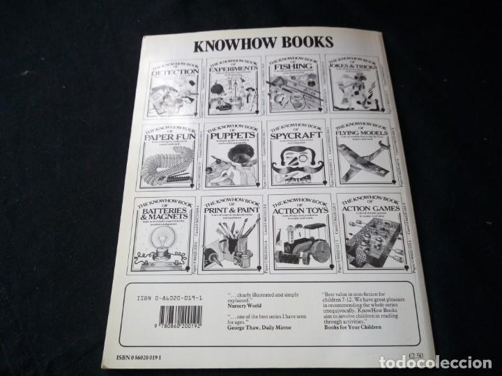 Libros de segunda mano: the knowhow book of action games,1975. libro de hacer juegos,en ingles. - Foto 6 - 130822616