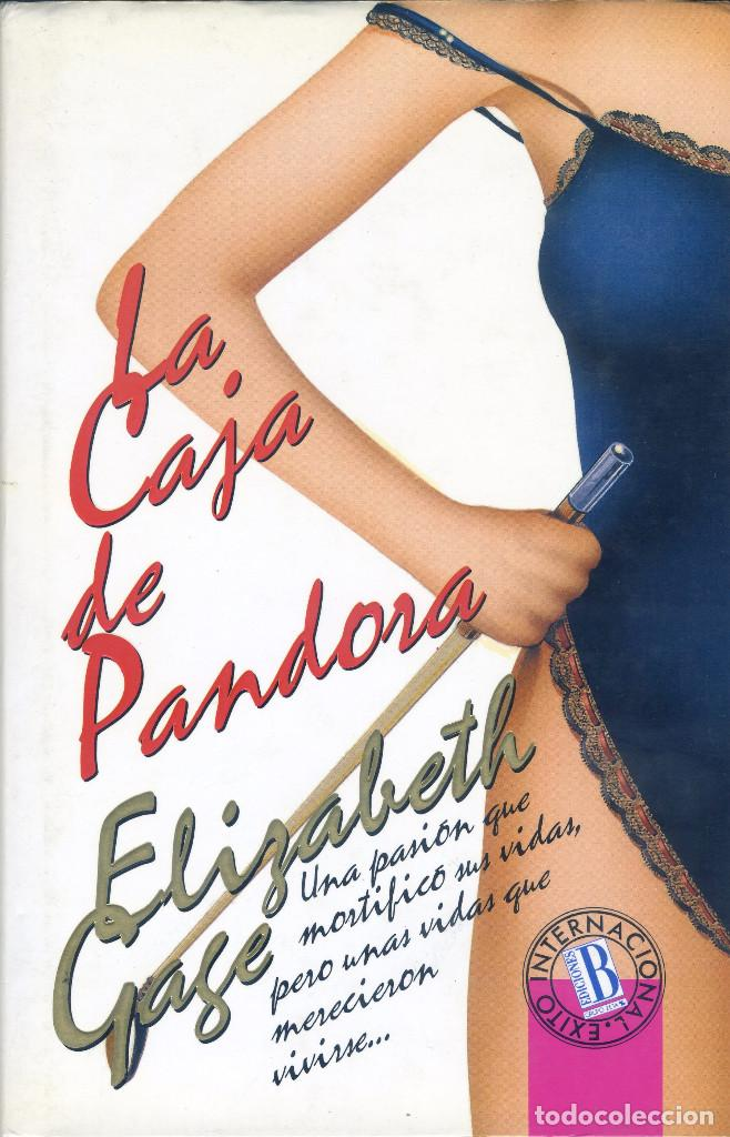 LA CAJA DE PANDORA, ELIZABETH GAGE (Libros de Segunda Mano (posteriores a 1936) - Literatura - Otros)