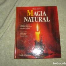 Libros de segunda mano: MAGIA NATURAL , MARINA MEDICI. Lote 130984180