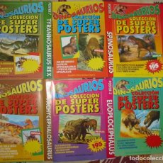 Libros de segunda mano: DINOSAURIOS - 12 SUPER POSTERS 82 X 57 CM - COLECCIÓN COMPLETA PLANETA 1993 - VER FOTOS. Lote 131034084